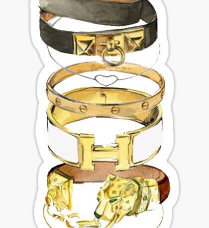Hermes {Jewelry} #FASHION Sticker