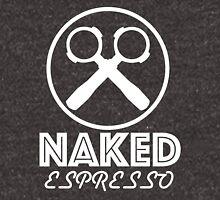 NAKED Espresso - White Unisex T-Shirt