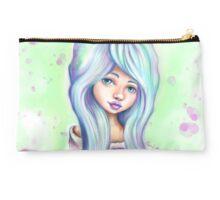 Rainbow Girl - Emo Mermaid Hair  Studio Pouch