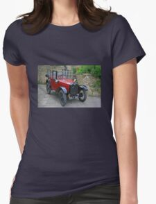 Baby Austin Womens Fitted T-Shirt