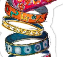 Hermes  colors {Jewelry} #FASHION Sticker