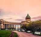 Kazan Cathedral, St. Petersburg by LudaNayvelt