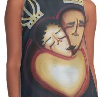 LOVERS EMBRACE Contrast Tank