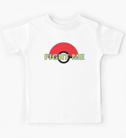 Pokemon Fight Me Kids Tee