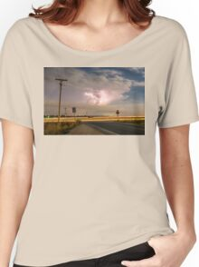 Cars Lightning and Lines Women's Relaxed Fit T-Shirt