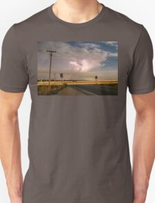 Cars Lightning and Lines Unisex T-Shirt