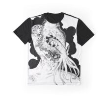 Minion of Cthulhu in Ceremonial Mask Graphic T-Shirt