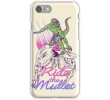 Mullet Surfer iPhone Case/Skin