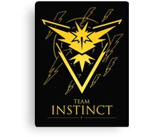 TEAM INSTINCT - T-Shirt / Phone Case / Mug / More Canvas Print