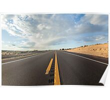 Into the sky - California Highway Poster