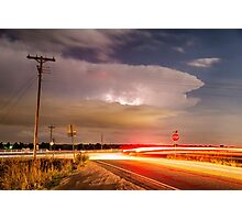 Cruising From the Storm Photographic Print