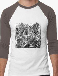 World Music Men's Baseball ¾ T-Shirt