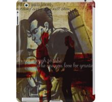Clint Barton and Natalia Romanova iPad Case/Skin