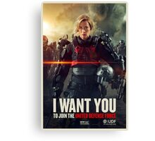 Edge of Tomorrow Canvas Print