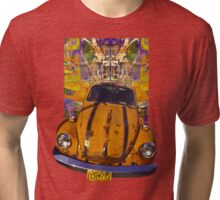 VW Bug power Tri-blend T-Shirt