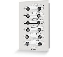 Nissan Fairlady Z History Greeting Card