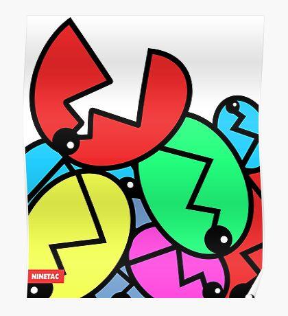 Piranha Flower - NINETAC Poster