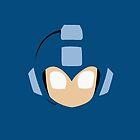 Megaman Head by RedSolar