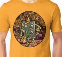 Motherboard Man Waits for Party Unisex T-Shirt