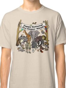 Happy National Zoo Keeper Week Classic T-Shirt
