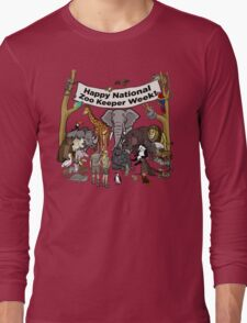 Happy National Zoo Keeper Week Long Sleeve T-Shirt