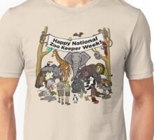 Happy National Zoo Keeper Week Unisex T-Shirt