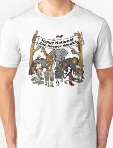 Happy National Zoo Keeper Week Unisex T-Shirt