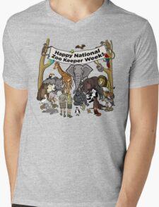 Happy National Zoo Keeper Week Mens V-Neck T-Shirt