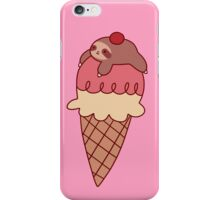Icecream Sloth iPhone Case/Skin
