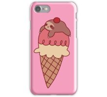 Icecream Sloth iPhone Case/Skin