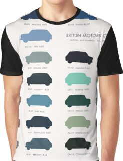 Austin Mini classic - 60's original car colours  Graphic T-Shirt