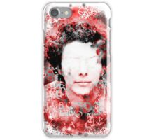 Arts lover { B&W&R Edition} iPhone Case/Skin
