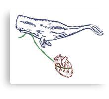 Nantucket Heart Canvas Print