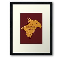 Chocobo is Coming Framed Print