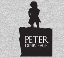 Peter having a Dinkl-age T-Shirt