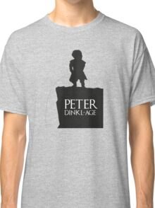 Peter having a Dinkl-age Classic T-Shirt