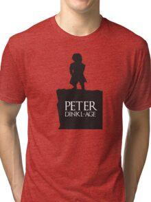 Peter having a Dinkl-age Tri-blend T-Shirt