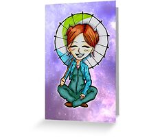 Kawaii Cute Chibi Kaylee Frye Greeting Card