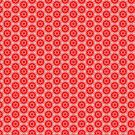 Abstract Geometric 0909(07) - Red by Artberry