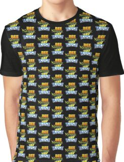 Bee Shrek Test in the House Logo Graphic T-Shirt