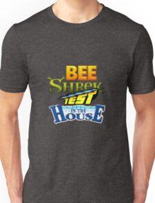 Bee Shrek Test in the House Logo Unisex T-Shirt