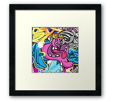 Graffiti Art Framed Print