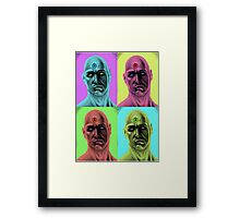 Manhattan Pop Art Framed Print