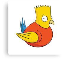 Bird Simpson Canvas Print
