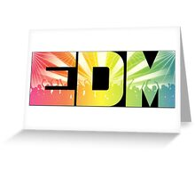 EDM Rainbow Greeting Card