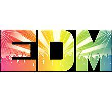 EDM Rainbow Photographic Print