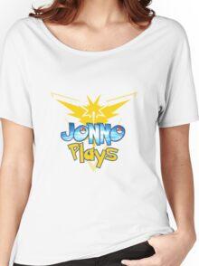 Jonno Plays Pokémon GO! Women's Relaxed Fit T-Shirt