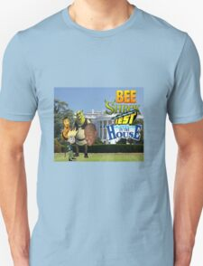 Bee Shrek Test in the House Design Unisex T-Shirt