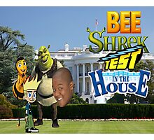 Bee Shrek Test in the House Design Photographic Print