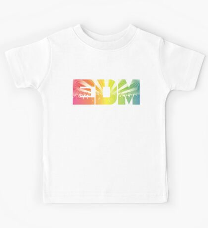EDM Rainbow Kids Tee